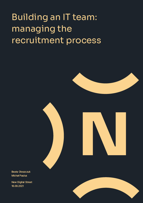 Building an IT team: managing the recruitment process